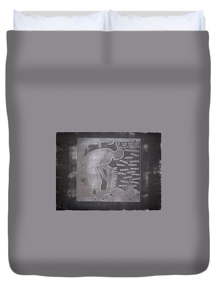 D U Rounds Project, Print 33 Duvet Cover