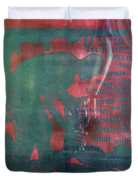 D U Rounds Project, Print 34 Duvet Cover