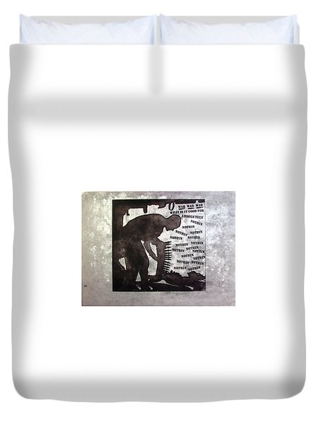 D U Rounds Project, Print 36 Duvet Cover