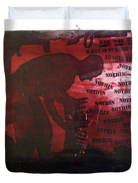 D U Rounds Project, Print 38 Duvet Cover