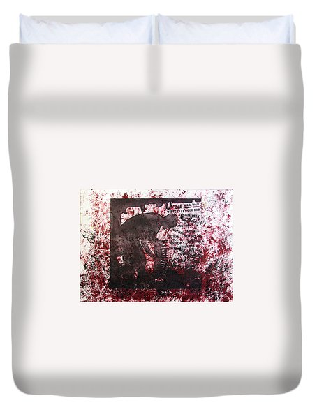D U Rounds Project, Print 39 Duvet Cover
