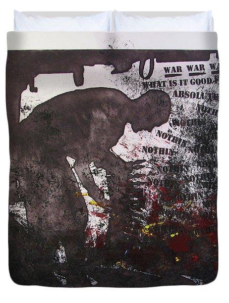 D U Rounds Project, Print 41 Duvet Cover