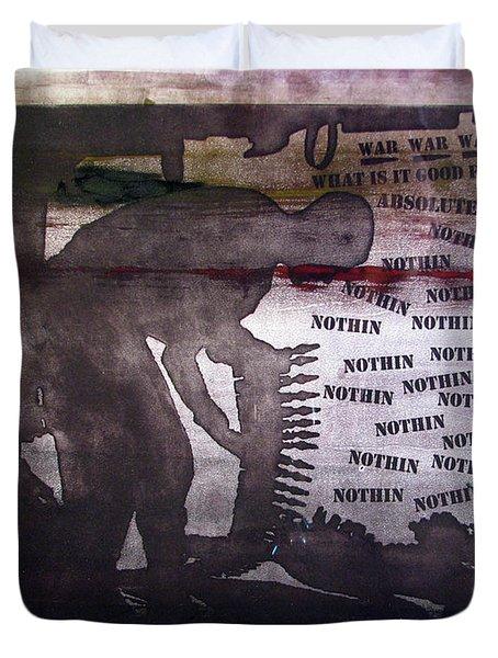 D U Rounds Project, Print 42 Duvet Cover