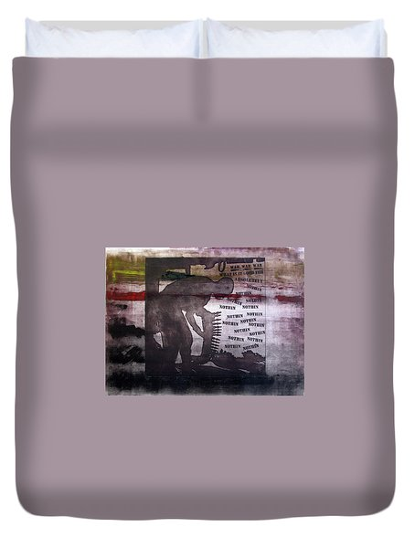 D U Rounds Project, Print 42 Duvet Cover