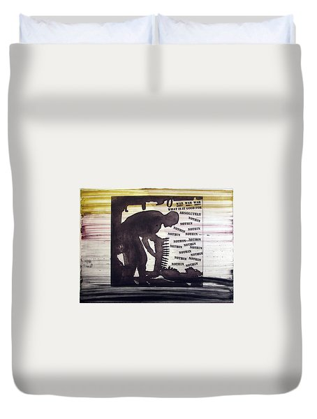 D U Rounds Project, Print 45 Duvet Cover