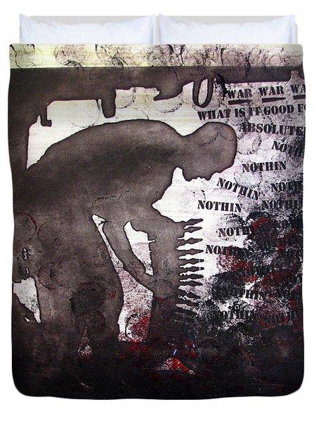 D U Rounds Project, Print 46 Duvet Cover
