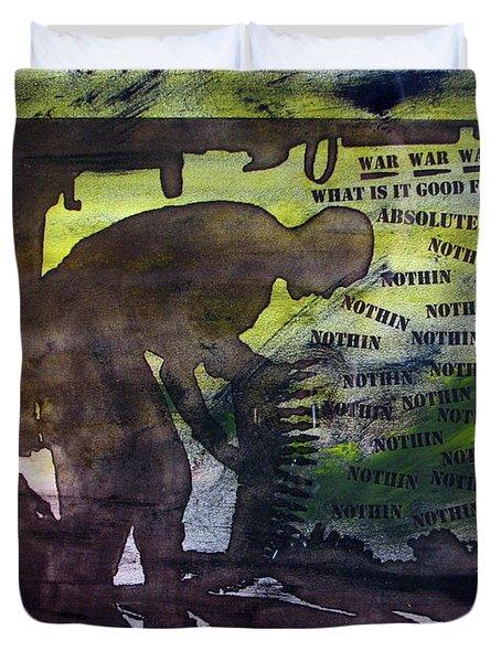 D U Rounds Project, Print 48 Duvet Cover