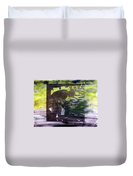 D U Rounds Project, Print 48 Duvet Cover