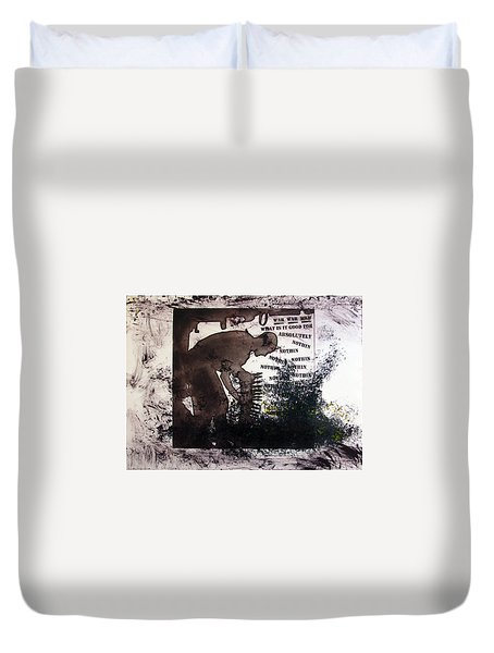 D U Rounds Project, Print 50 Duvet Cover