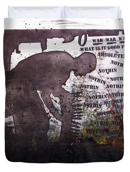 D U Rounds Project, Print 51 Duvet Cover