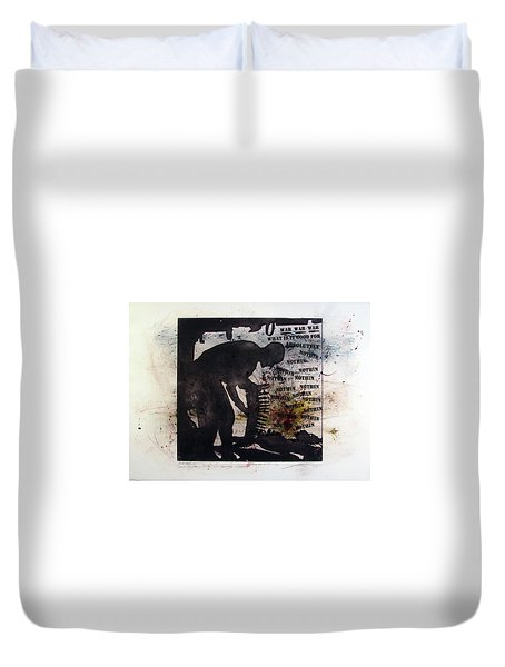 D U Rounds Project, Print 53 Duvet Cover