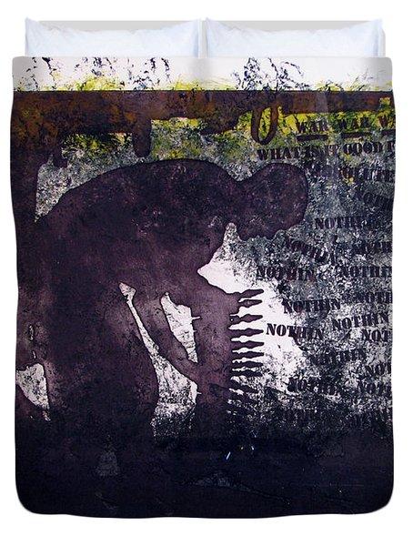 D U Rounds Project, Print 6 Duvet Cover