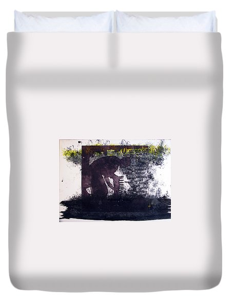D U Rounds Project, Print 6 Duvet Cover