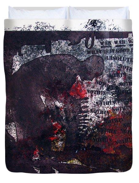 D U Rounds Project, Print 7 Duvet Cover