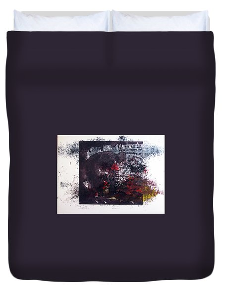 D U Rounds Project, Print 7 Duvet Cover