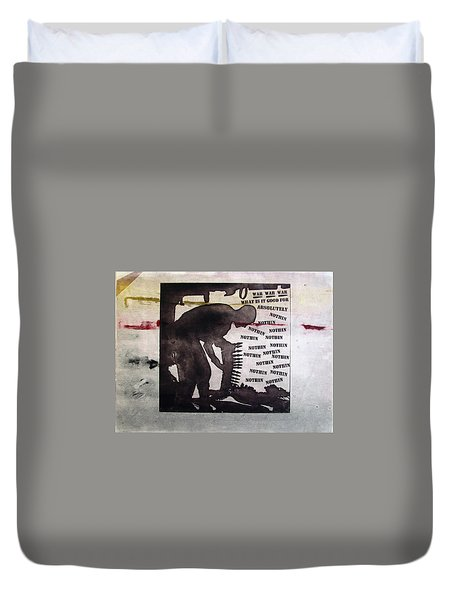 D U Rounds Project, Print 8 Duvet Cover