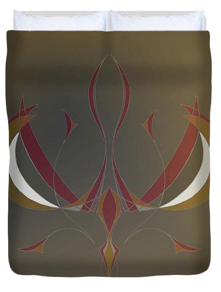 Da Vinci Spider Duvet Cover