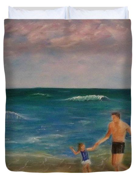 Daddys Girl Duvet Cover