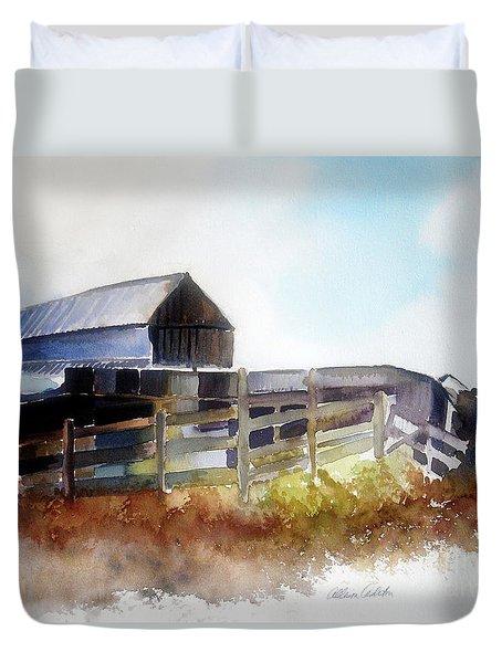 Dad's Farm House Duvet Cover
