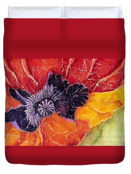 Dad's Poppy Duvet Cover