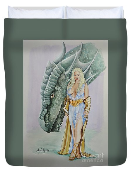 Daenerys Targaryen - Game Of Thrones Duvet Cover