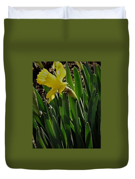Daffodil Crown Duvet Cover