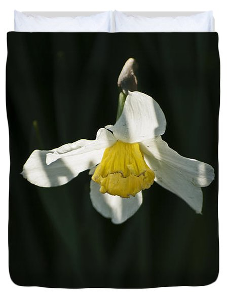 Duvet Cover featuring the photograph Daffodil by Elsa Marie Santoro