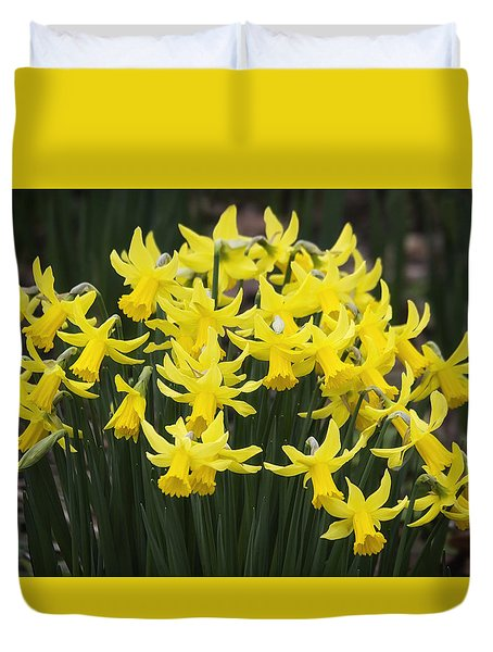 Daffodil Yellow Duvet Cover