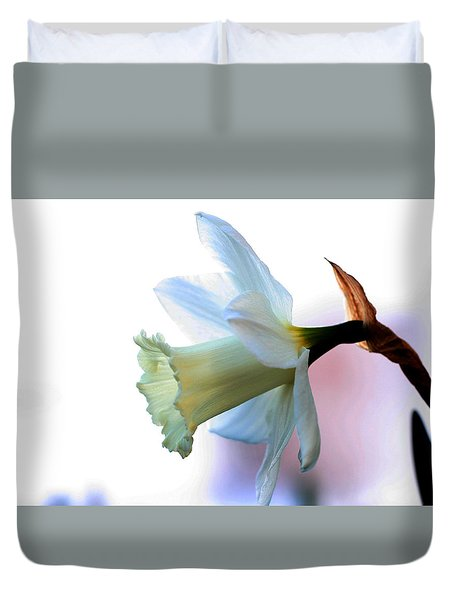 Daffy Duvet Cover by Doug Norkum