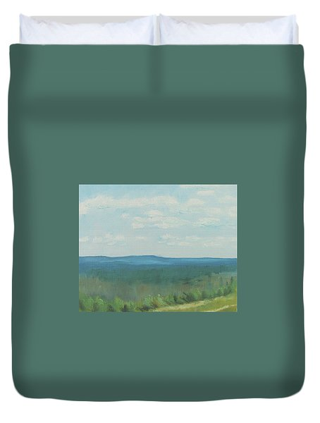 Dagrar Over Salenfjallen- Shifting Daylight Over Distant Horizon 3 Of 10_0029 50x40 Cm Duvet Cover