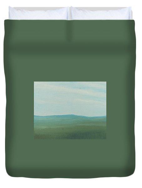 Dagrar Over Salenfjallen- Shifting Daylight Over Distant Horizon 4 Of 10_0029 51x40 Cm Duvet Cover