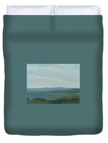 Dagrar Over Salenfjallen- Shifting Daylight Over Distant Horizon 6a Of 10_0027 50x40 Cm Duvet Cover