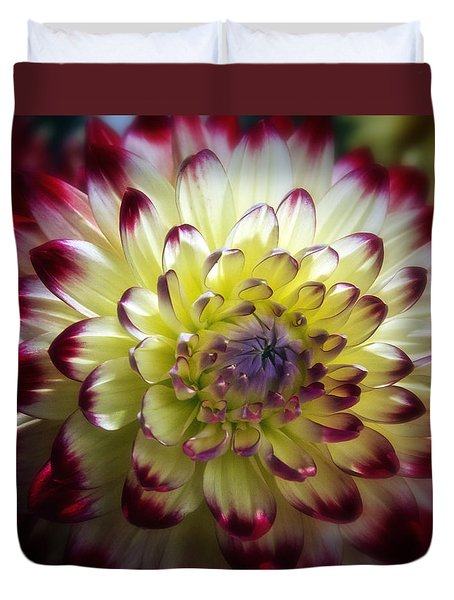 Dahlia Fine Art Photograph Duvet Cover