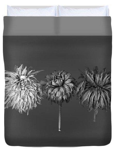Dahlia Grouping 1 Duvet Cover