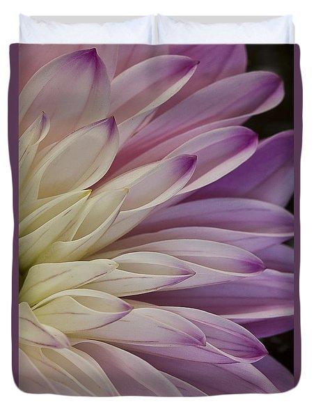 Dahlia Petals 2 Duvet Cover