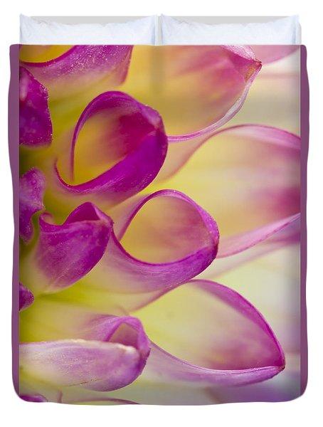 Dahlia Petals 4 Duvet Cover