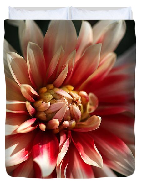 Dahlia Warmth Duvet Cover