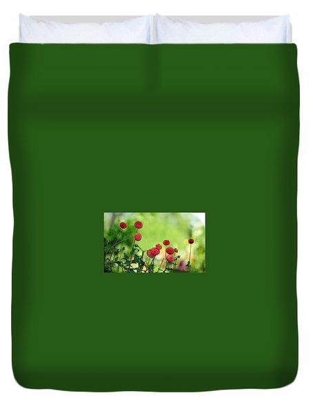 Dahlias Duvet Cover