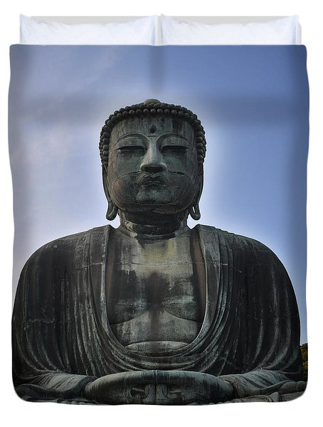 Daibutsu Buddha Duvet Cover