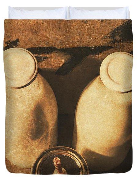 Dairy Nostalgia Duvet Cover