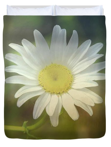 Daisies Don't Tell Duvet Cover