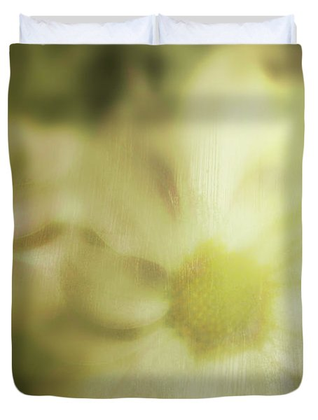 Daisies Duvet Cover by Gray  Artus