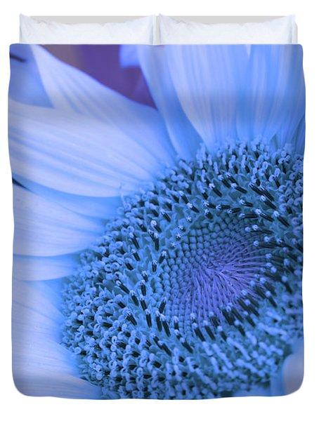 Daisy Blue Duvet Cover