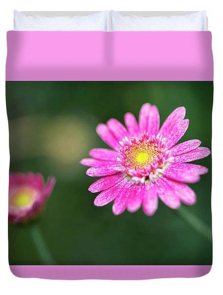 Duvet Cover featuring the photograph Daisy Flower by Pradeep Raja Prints