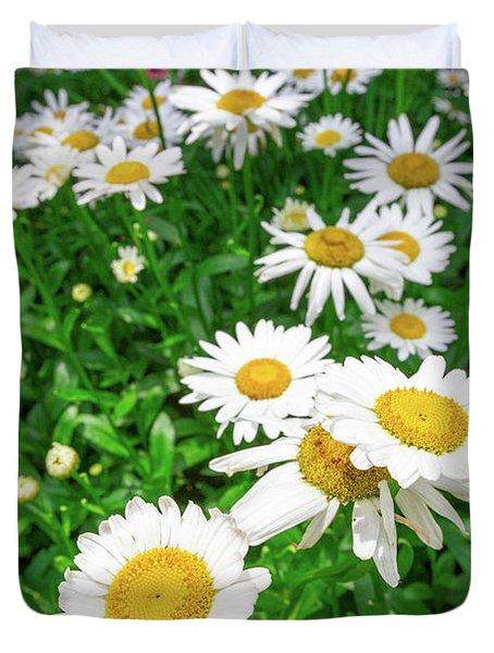 Daisy Garden Duvet Cover