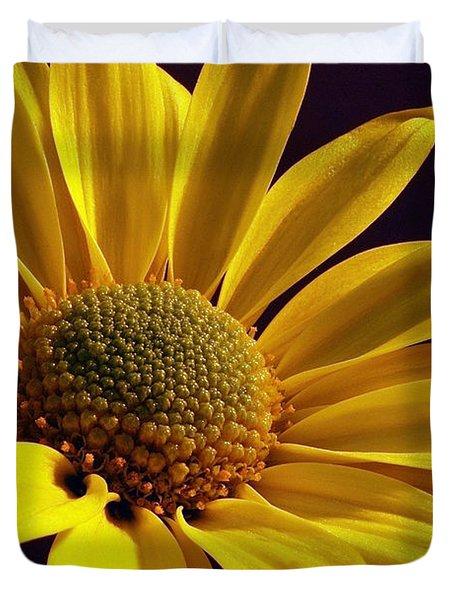 Daisy Duvet Cover by Lois Bryan