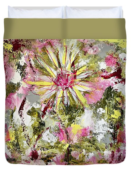Daisies On Parade No. 1 Duvet Cover