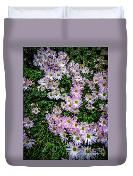Daisy Patch Duvet Cover by David Smith