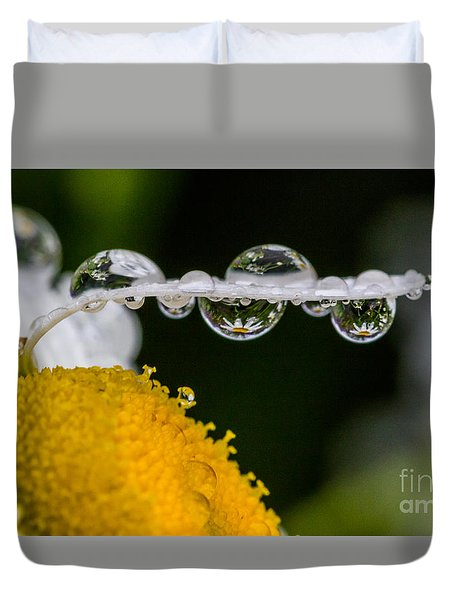 Daisy Reflections Duvet Cover