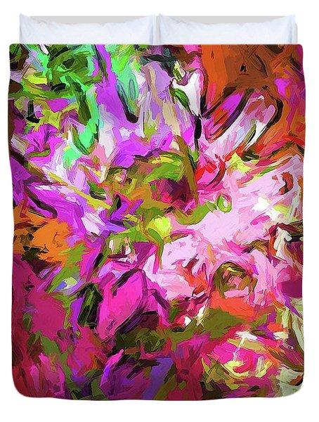 Daisy Rhapsody Petal Pink Duvet Cover